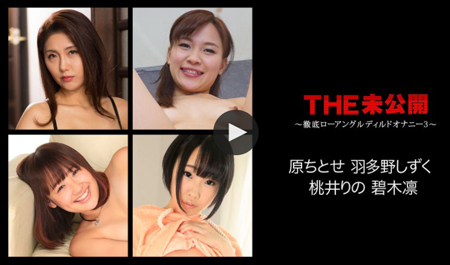 「THE 未公開 ~徹底ローアングルディルドオナニー3~」のサンプル動画再生画像