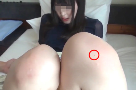 黒木いくみの膝ホクロ検証画像